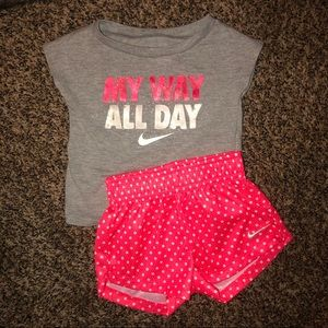 Infant NIKE matching set